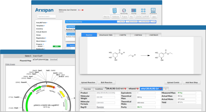 Arxspan ELN and Scientific Workflow Cloud Solutions